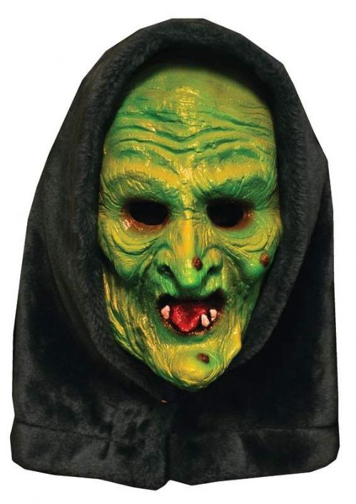 Mask Head Witch Mask Hallowen 3 Guillotine Halloween Zombie Body Prop